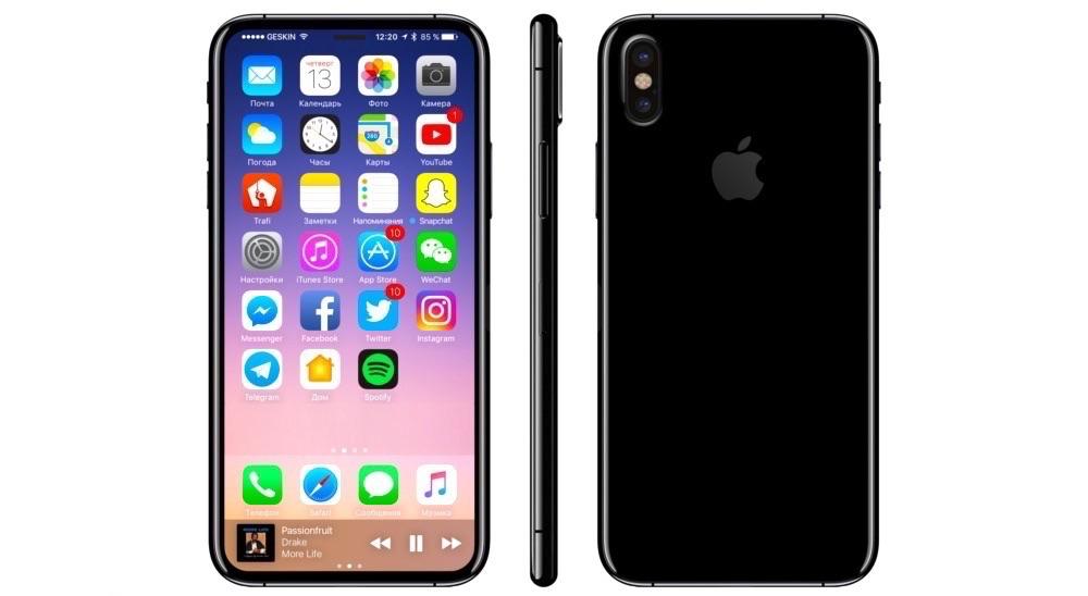 Nuevas Imagenes Filtradas del iPhone 8 y SusCaracteristicas